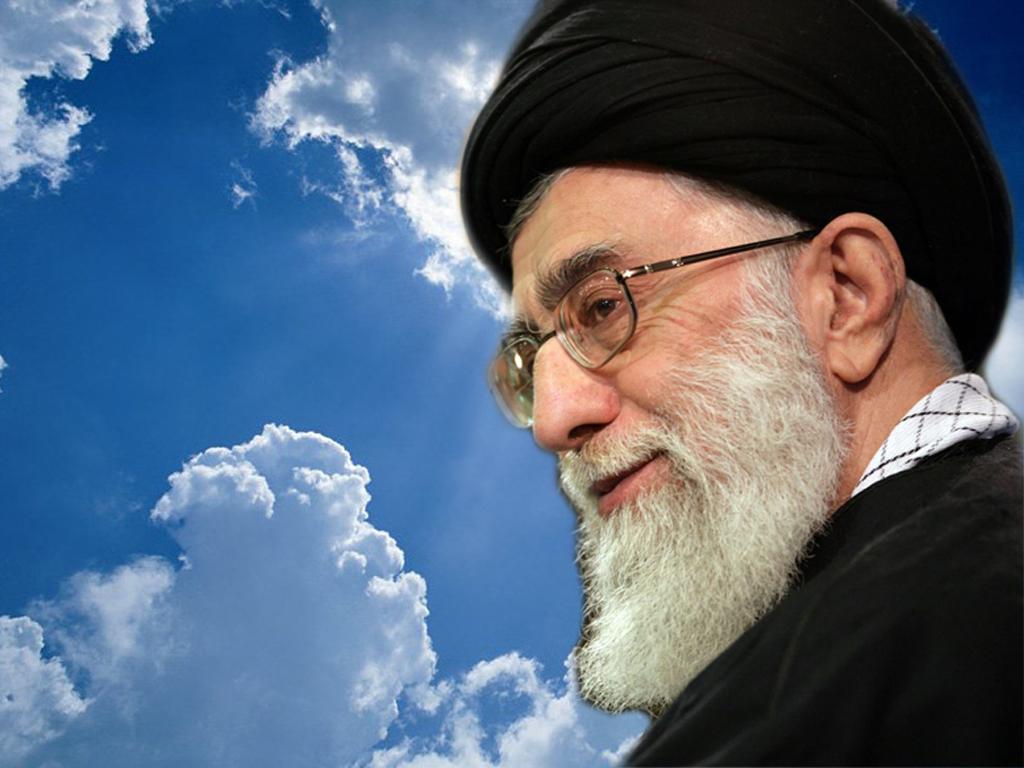 عکس امام خامنه ای و امام خمینی